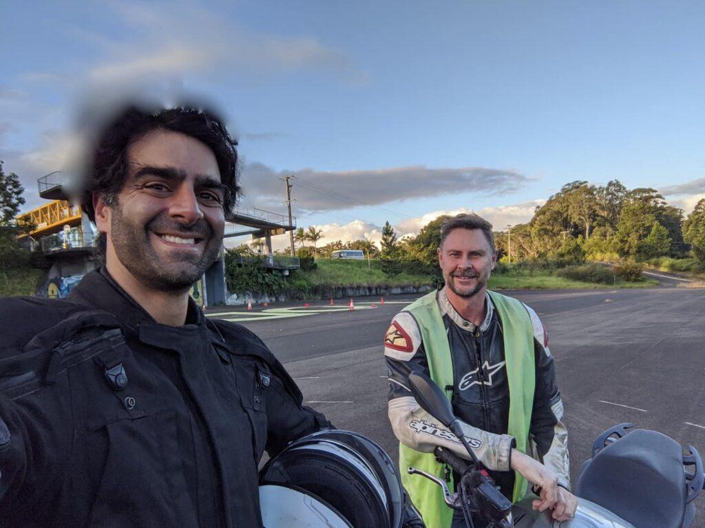 queensland motorcycle school review - dana and mark