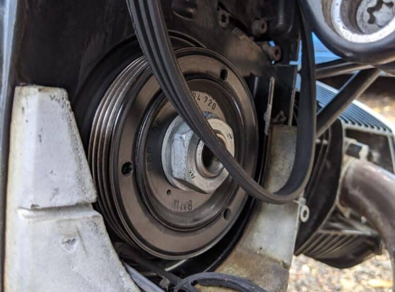 Change a BMW R1200 Alternator Belt — Without Special Tools