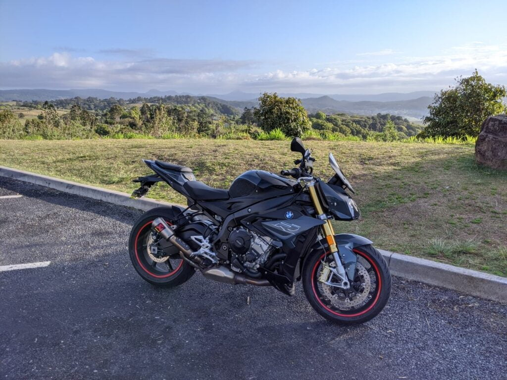 BMW S1000R Buyers Guide - with rim tape, in countryside of Australia