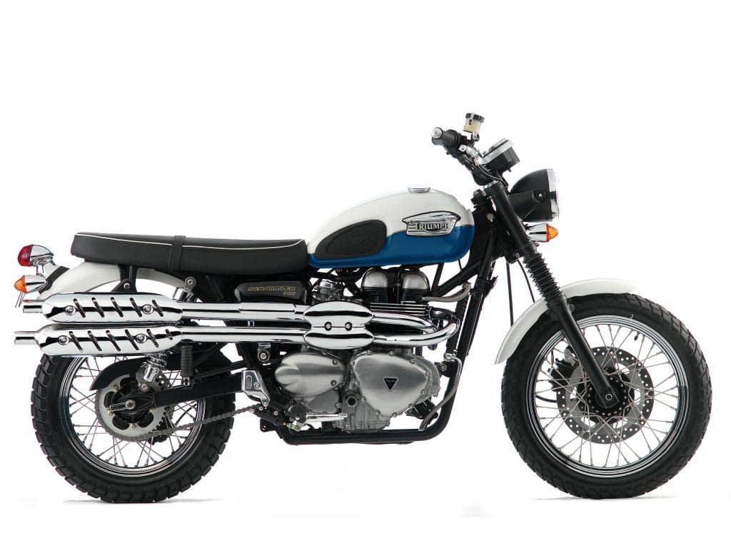 Triumph Scrambler - carburetted ealier version with a 270-degree crankshaft