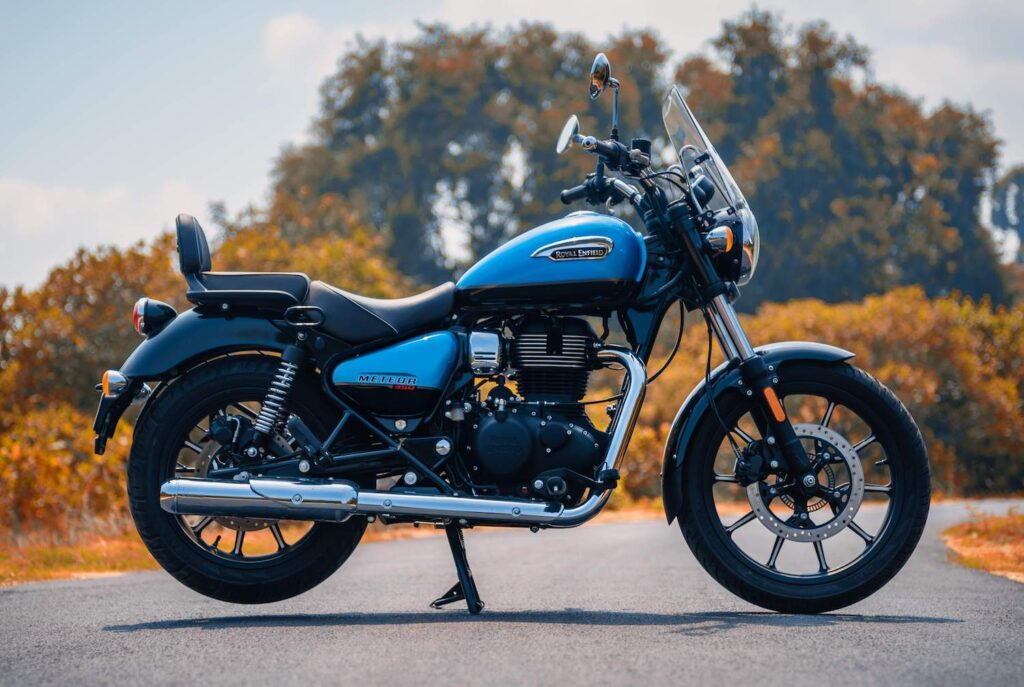 Royal Enfield Meteor 350 - a very attractive motorcycle for 2021