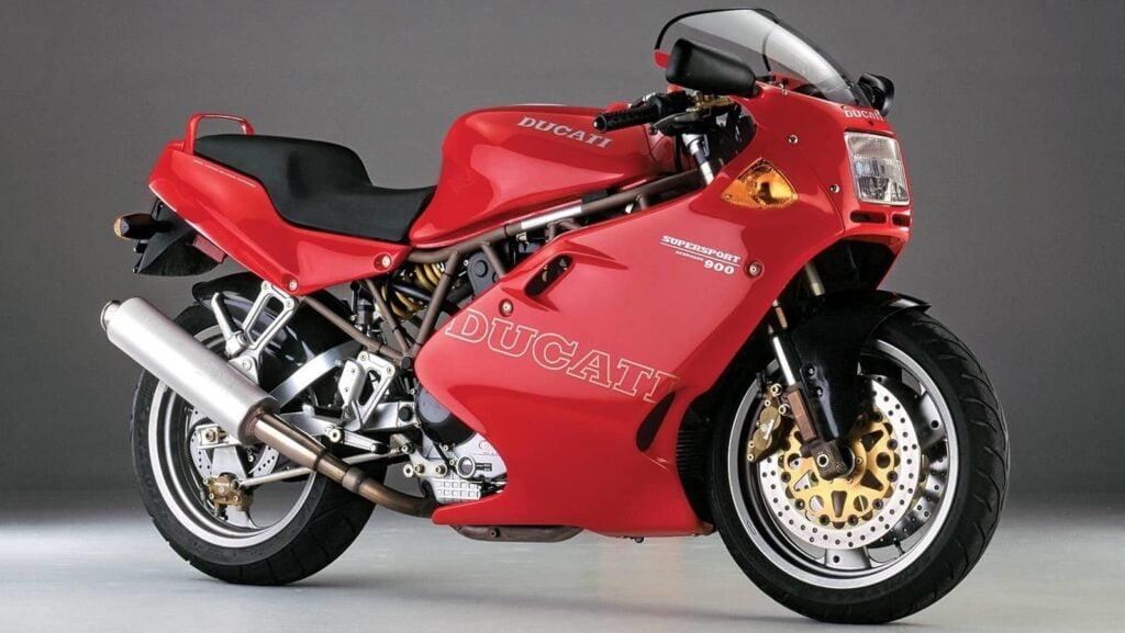 Ducati Supersport 900 900SS classic motorcycle