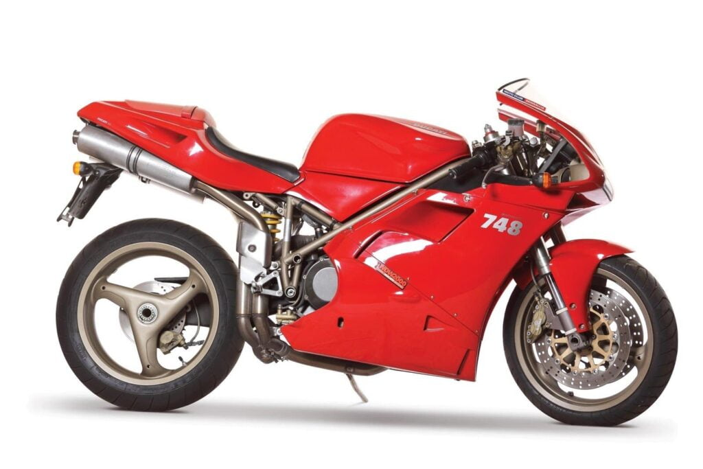 Affordable classic motorcycle Ducati 748