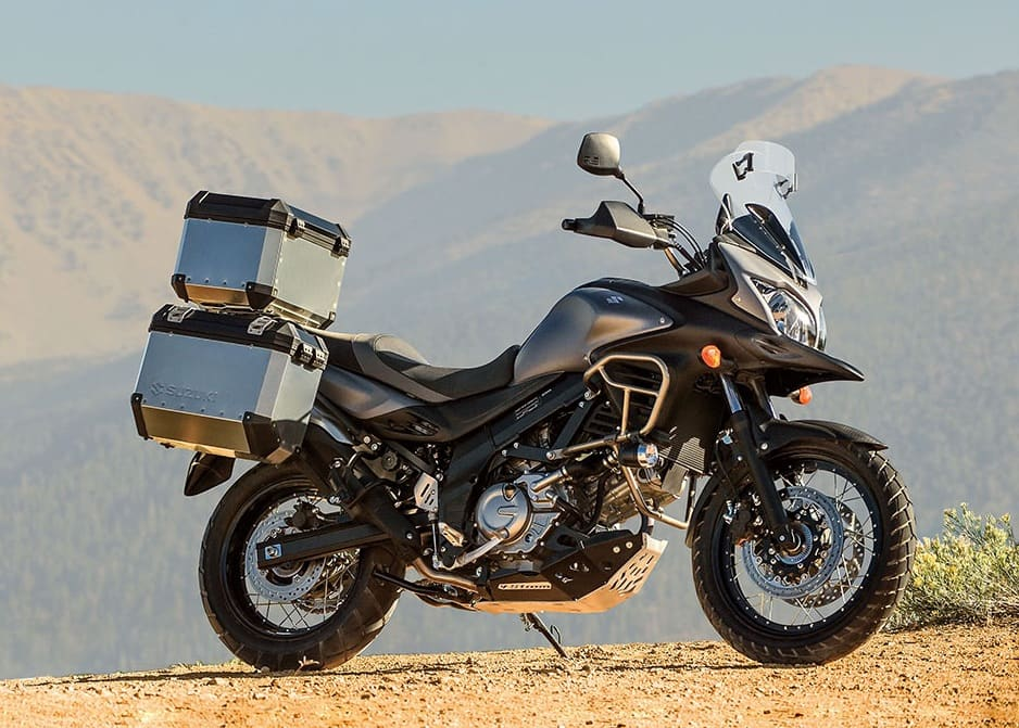 The Suzuki DL-650 V-Strom, Wee Strom, in apocalypse mode