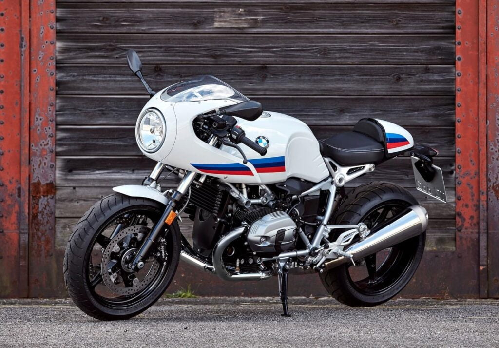 BMW R Nine T Racer - side pic