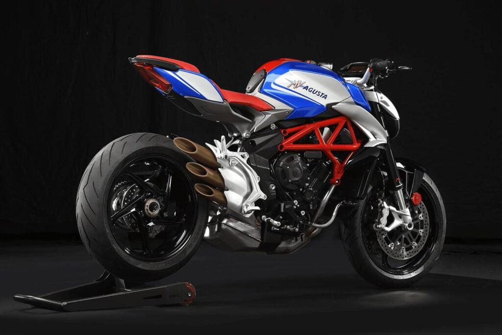MV Agusta Brutale America - a very good-looking motorcycle