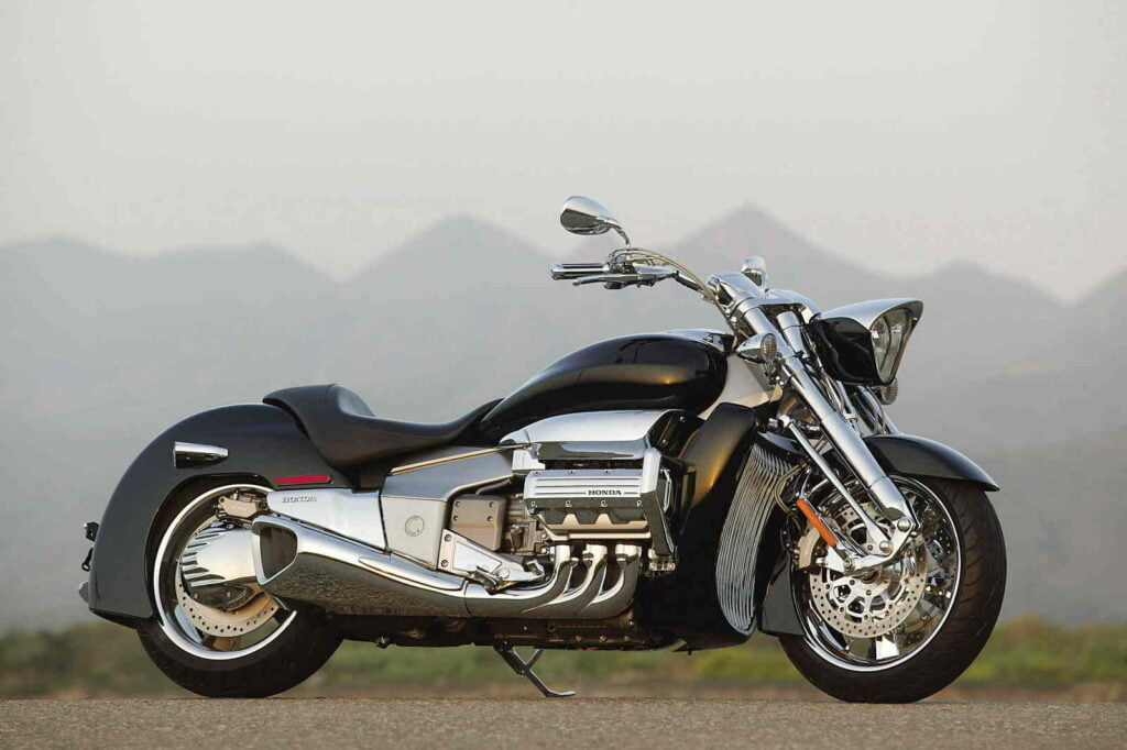 The most outrageous designed Honda motorcycle ever, the Valkyrie Rune