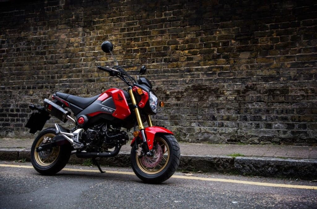 Honda Grom, one of the most fun motorcycles under 10hp... ever