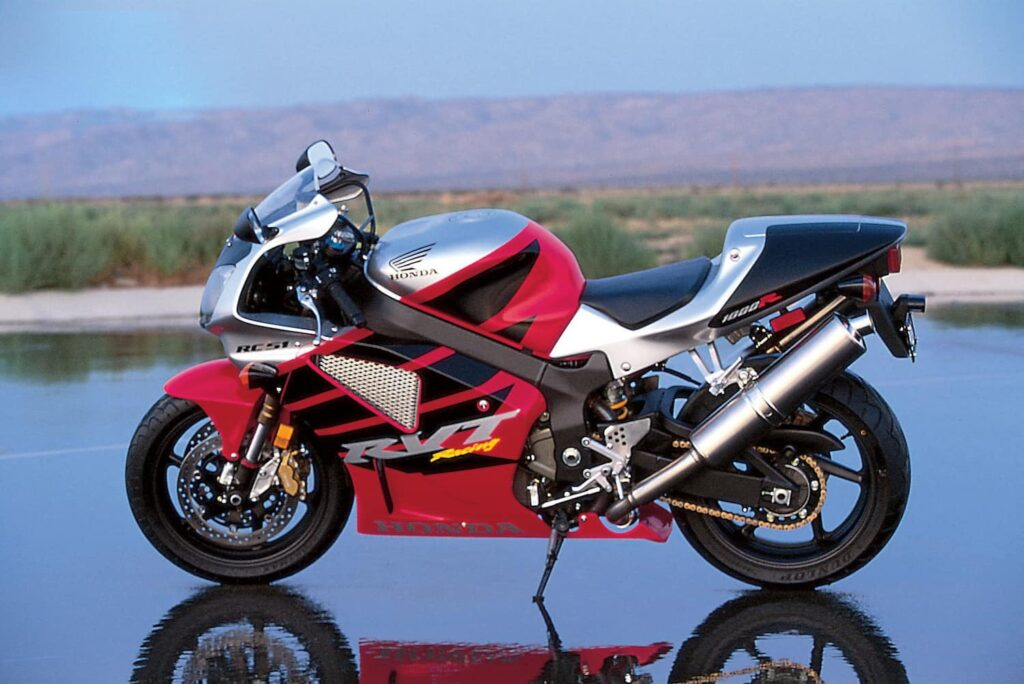 Honda RC51 VTR1000 RVT1000R v-twin superbike