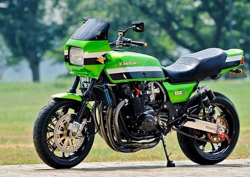 Original Kawasaki KZ1000R, the original ELR