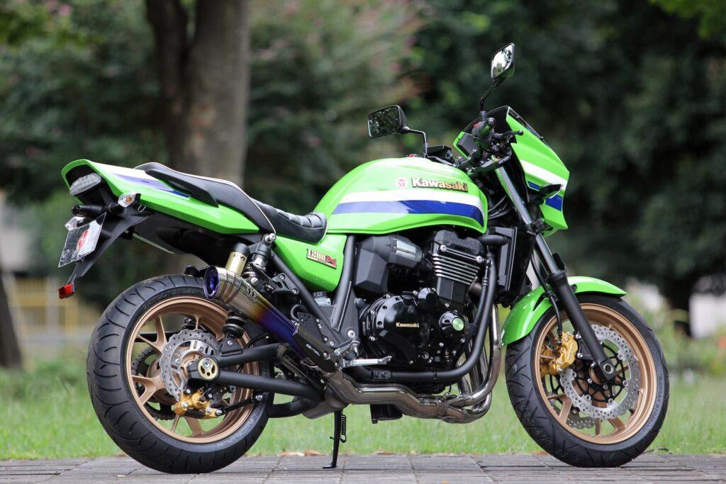 Japan model Kawasaki ZRX1200R DAEG - a rare and Japan-only Eddie Lawson Replica-inspired standard bike