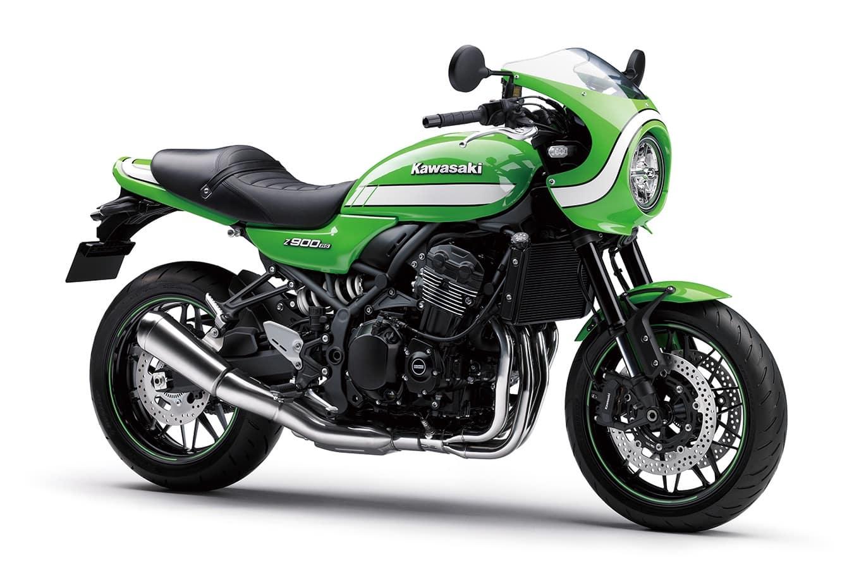 Green Kawasaki Z900RS Cafe