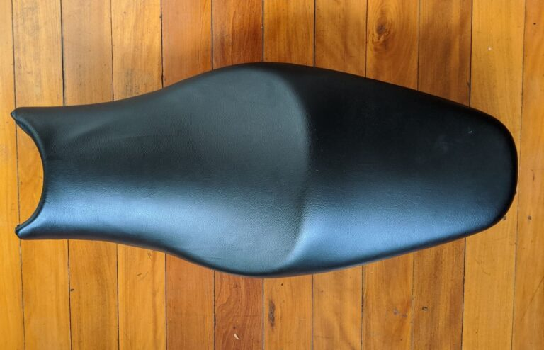 How to Reupholster a Motorcycle Seat