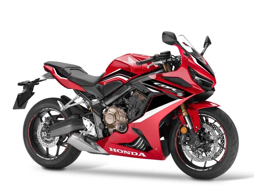 Honda CBR650R — A great first track motorcycle