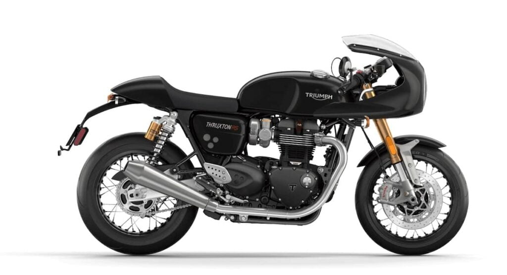 Triumph Thruxton RS with cafe racer cowl