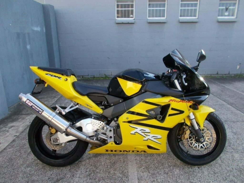 The booming Australian motorcycle market in 2020 means I missed out on this yellow Honda CBR954RR FireBlade