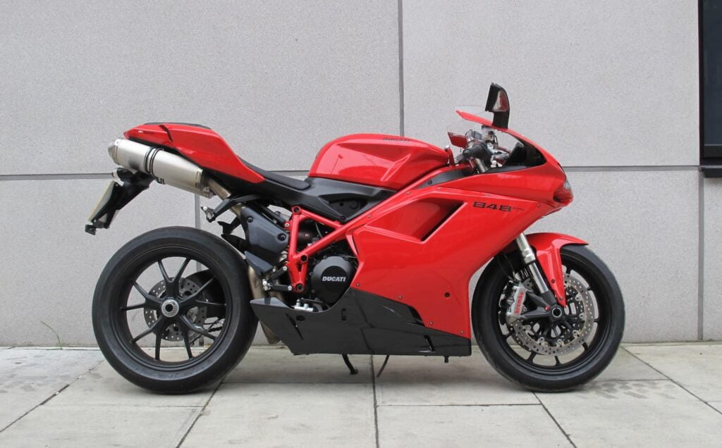 buying a used ducati - check that the fairings matches