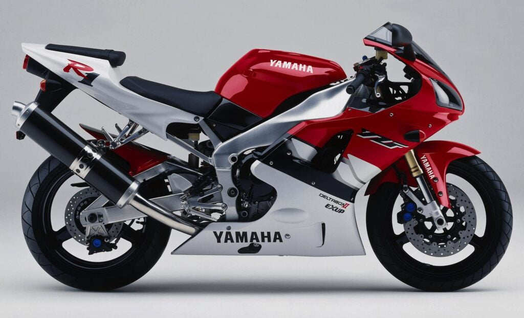 Year 2000, second generation Yamaha R1