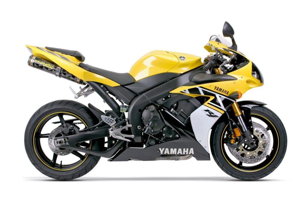 2006 Limited Edition Yamaha YZF-R1 in yellow and black