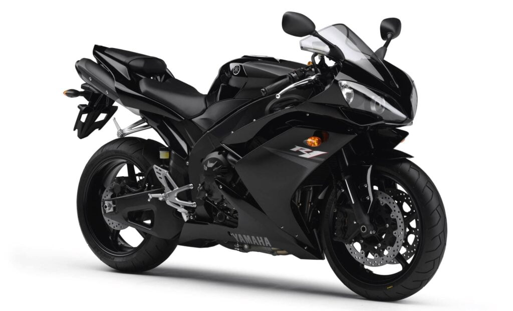 5th gen 2008 black Yamaha R1