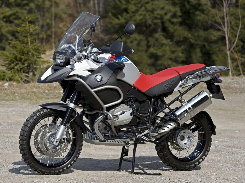 2010 BMW R1200GS with Camhead engine