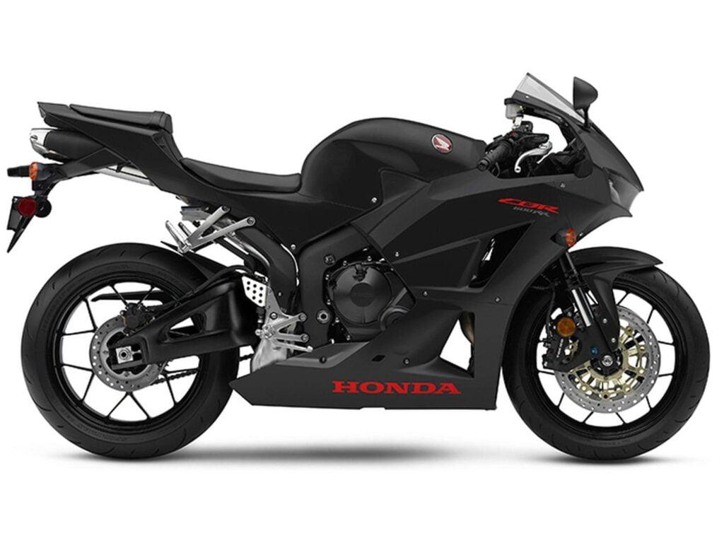 2019 Honda CBR600RR Black