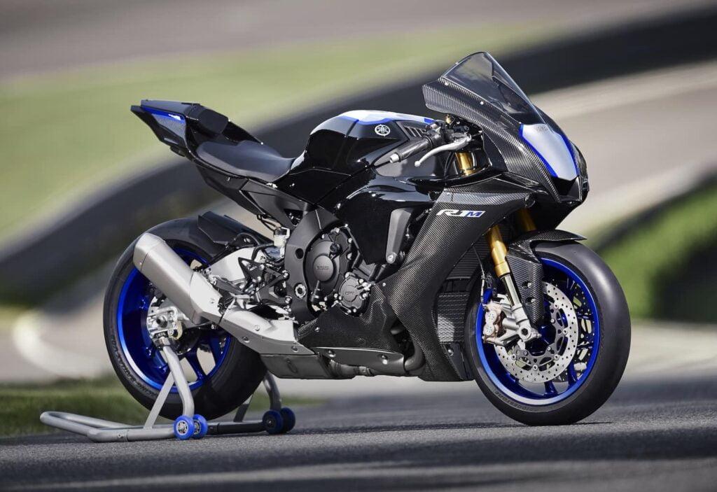 2020 Yamaha R1M in grey/black