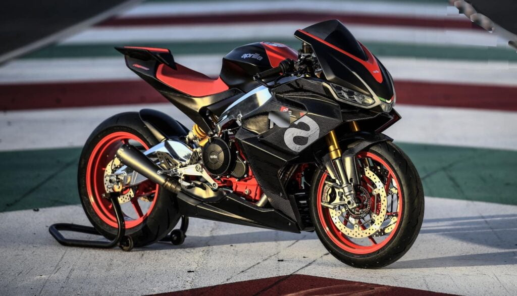 2021 Aprilia RS660 with cornering ABS