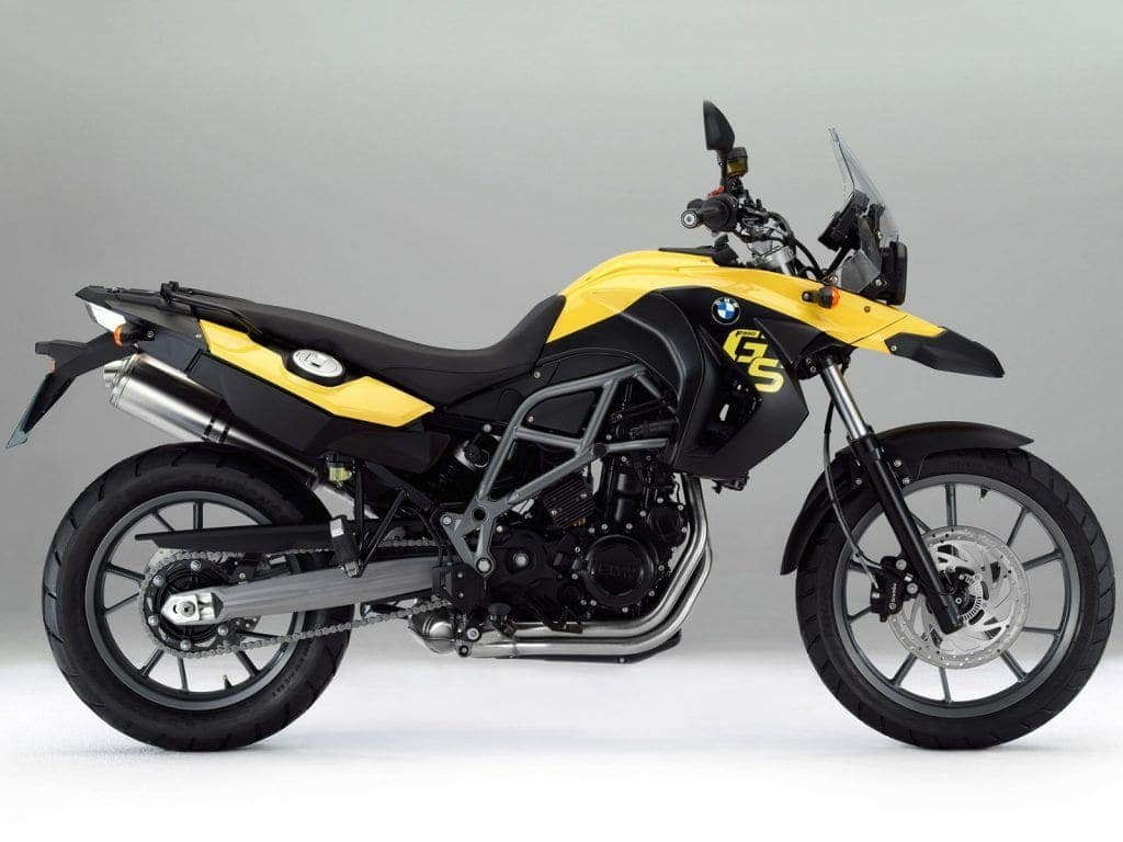 BMW F650GS - adventure travel motorcycle thumper