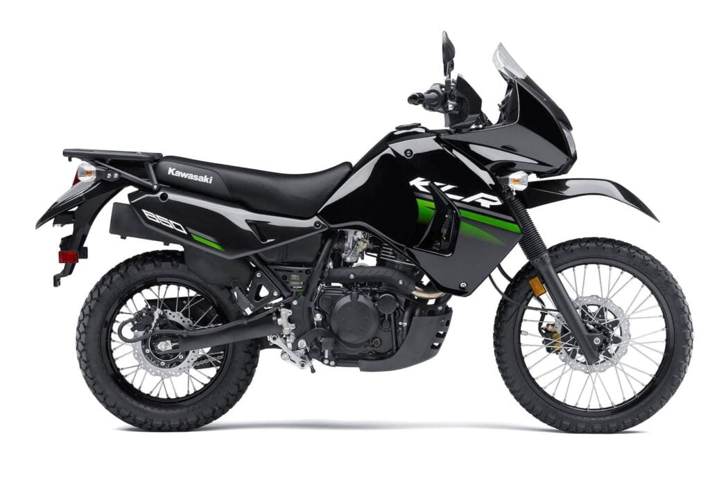 Kawasaki KLR650 - great dual sport for adventure travel