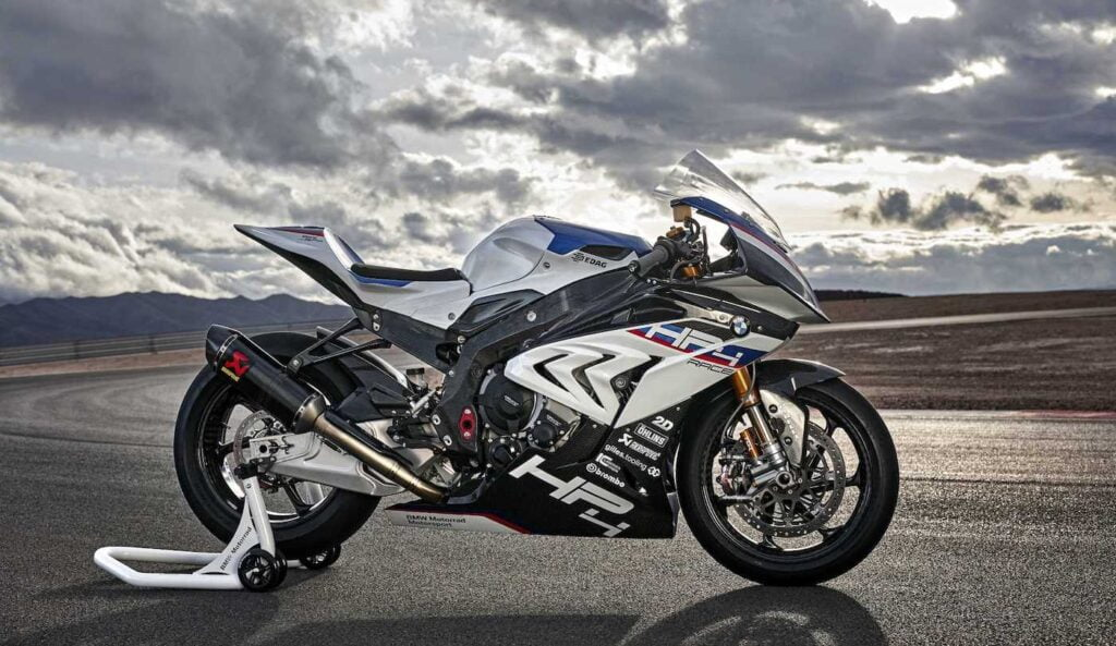 BMW HP4 Race with ABS Pro