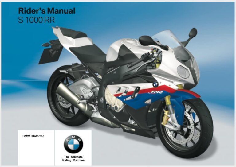 14 Surprising Things I learned from the BMW S1000R, S1000RR, and S1000XR manuals