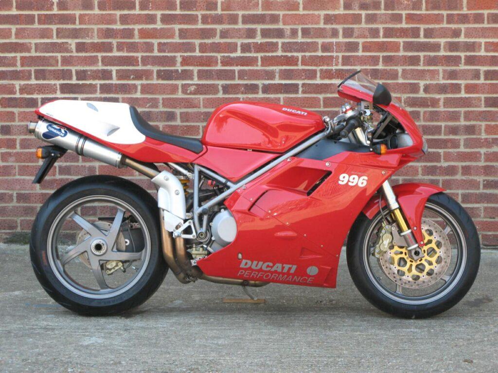 Ducati 996 SPS - rarer than standard 996