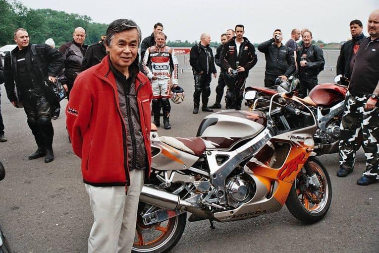 Tadao Baba, designer of the original Honda FireBlade