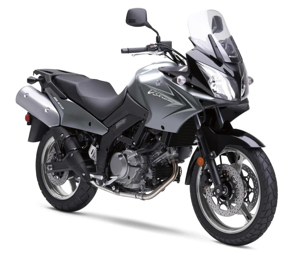 "The ""adventure'=: version of the SV650 - the dl650 V-Strom"