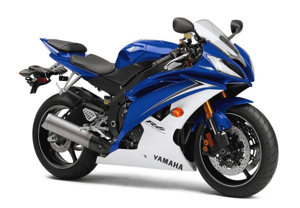 The 2010 Yamaha R6, same model 2010-2016