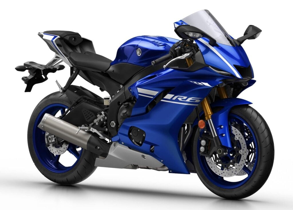 Latest generation Yamaha R6, 2017-present