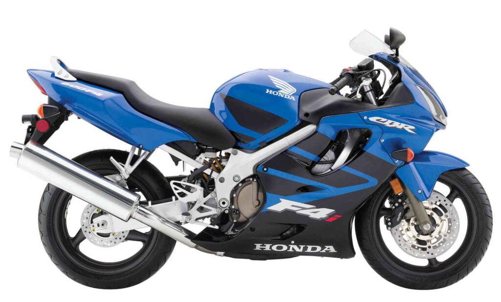 Blue CBR600F4i