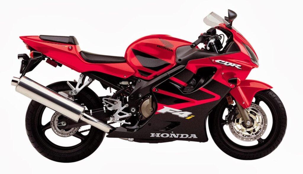 Honda CBR600F Buyers Guide - CBR600F4i Red and Black