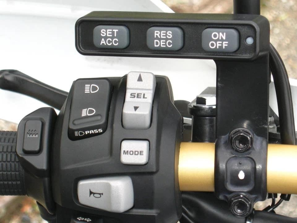 Aftermarket cruise control buttons from MCCruise.