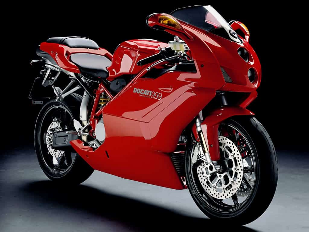 Ducati 999, stock image, front right
