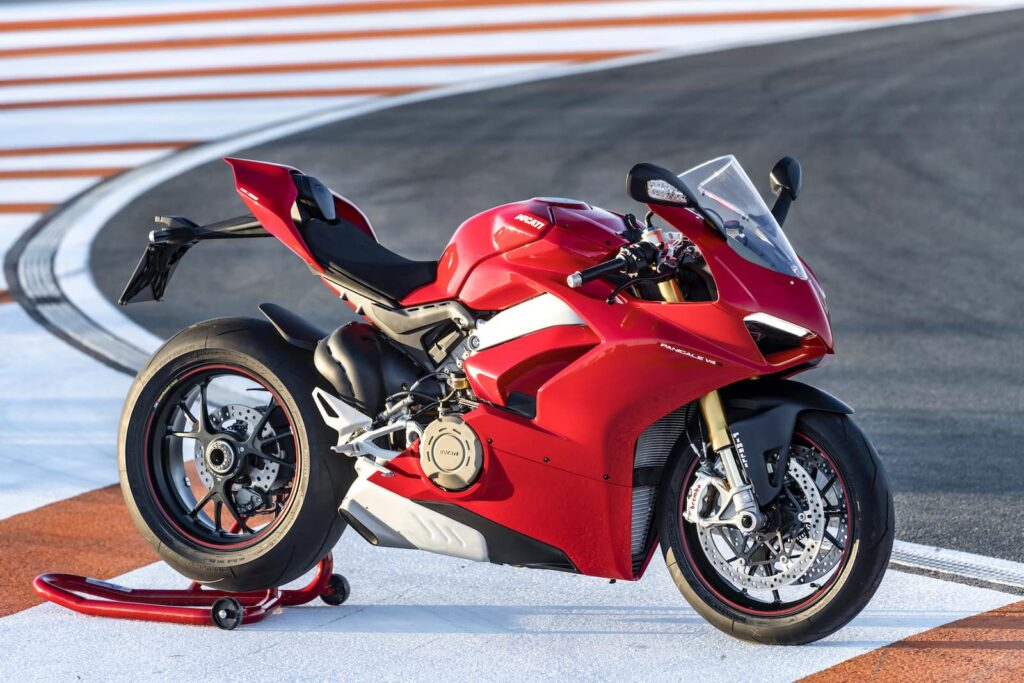 One of the most beautiful Ducati motorcycles, the 2018 Panigale V4