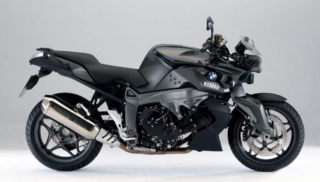 BMW K1300R, before the S1000R, in black