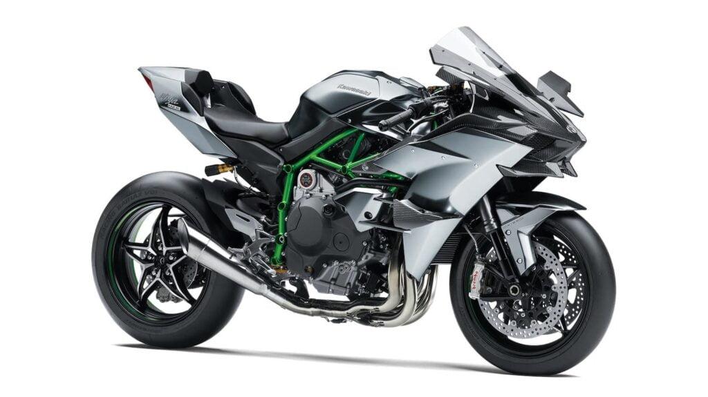 Kawasaki Ninja H2R hypersport motorcycle - h2 range comparision