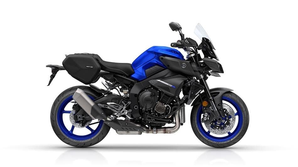 Yamaha MT-10 touring edition with cruise control