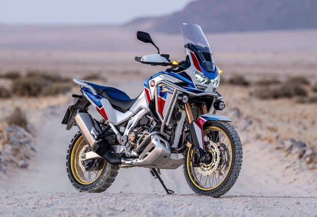 Honda africa twin CRF1100 in HRC colours