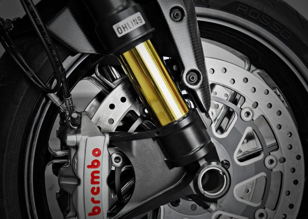 Motorcycle forks faq - ohlins front suspension