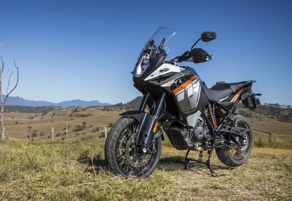 2013 KTM Adventure R with Cornering ABS