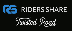 Riders Share and Twisted Road logos