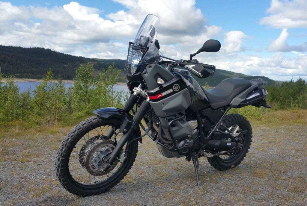 Yamaha Ternere XT660Z - before the T7